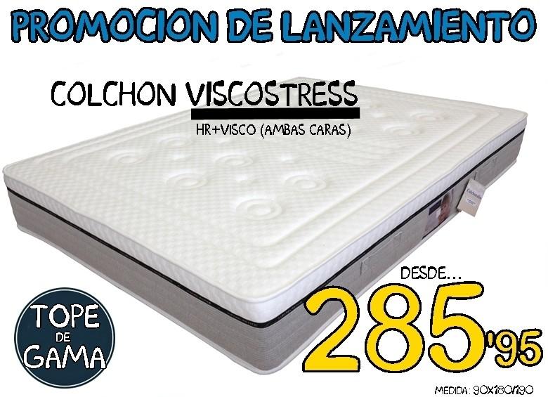Colchón Viscostress Colchonalia