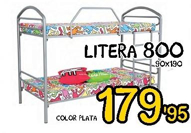 LITERA 800 PLATA